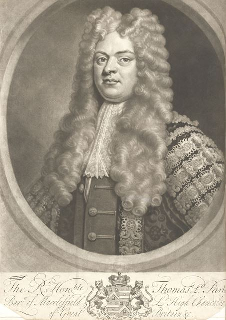 Thomas Parker, 1st Earl of Macclesfield PC FRS (1666-1732), an English Whig politician, c 1720?
