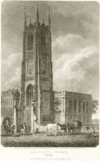 All Saint's Church (Derby Cathedral), Iron Gate, 1803