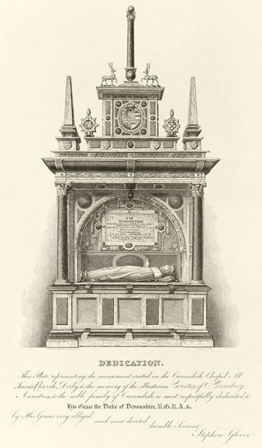 Cavendish Chapel, All Saint's Church (Derby Cathedral), Iron Gate, c 1820?