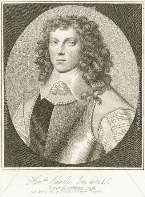 Honourable Charles Cavendish (1620-1643), Chatsworth House, Chatsworth, 1815
