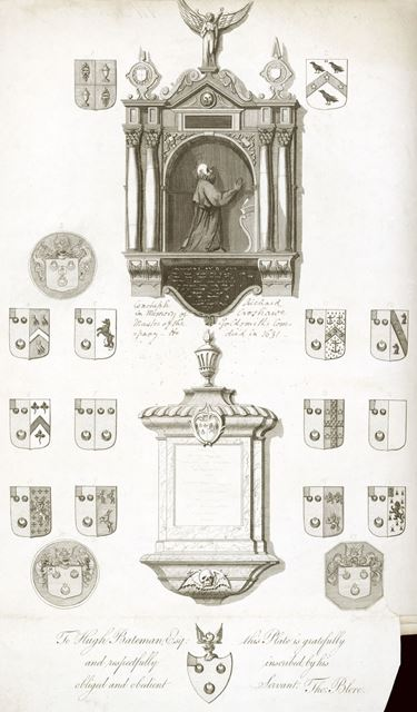 Monument to Richard Croshawe, All Saint's Church (Derby Cathedral), Iron Gate, c 1700?