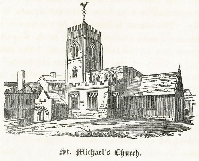 St Michael's Church, Queen Street, pre 1856