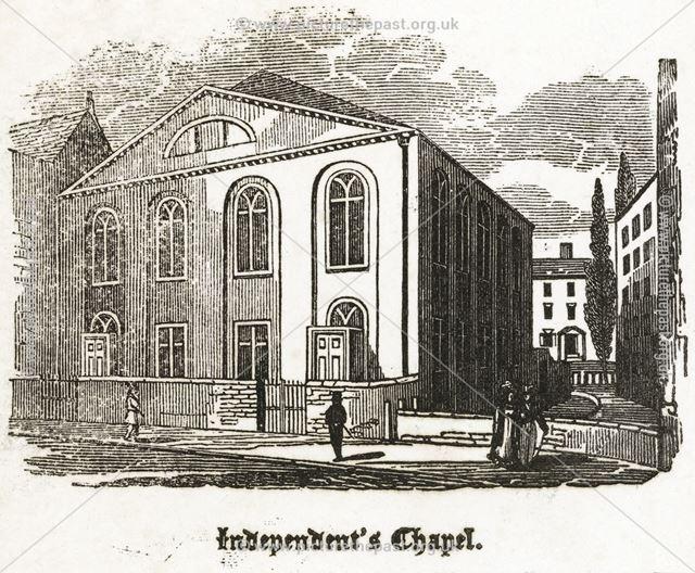 Independent's Chapel, Victoria Street, c 1827