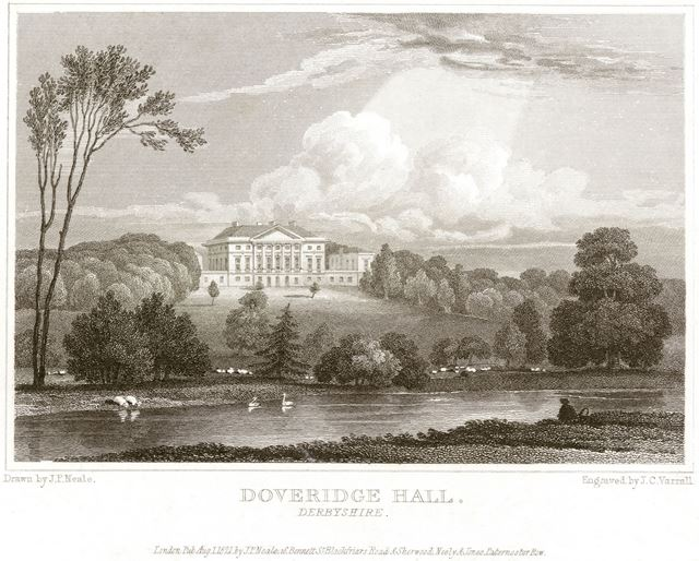 Doveridge Hall, Doveridge, 1821