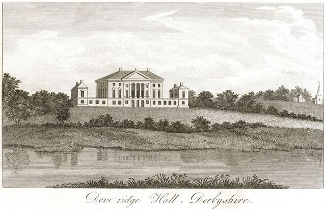 Doveridge Hall, Doveridge, c 1820?