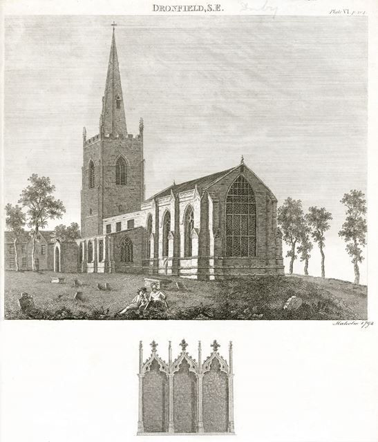 St John the Baptist Church, Church Street, Dronfield, 1792