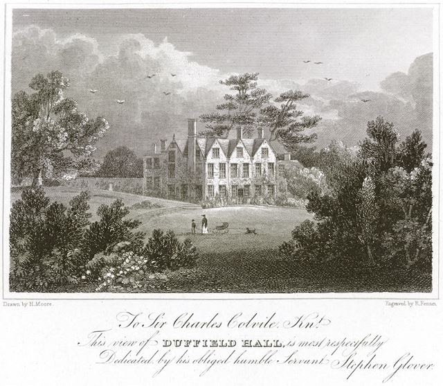 Duffield Hall, Derby Road, c 1829-47