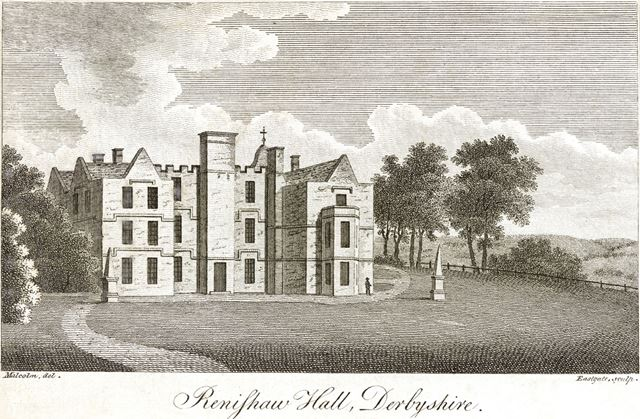 Renishaw Hall, Renishaw, near Eckington, 1800?