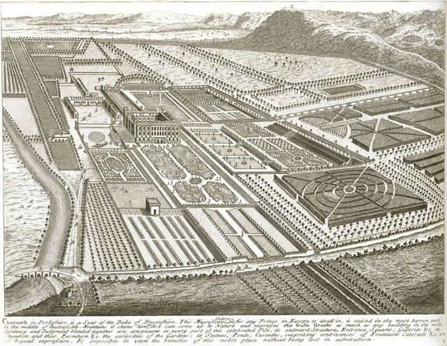 Plan of the Chatsworth Estate, c 1800?