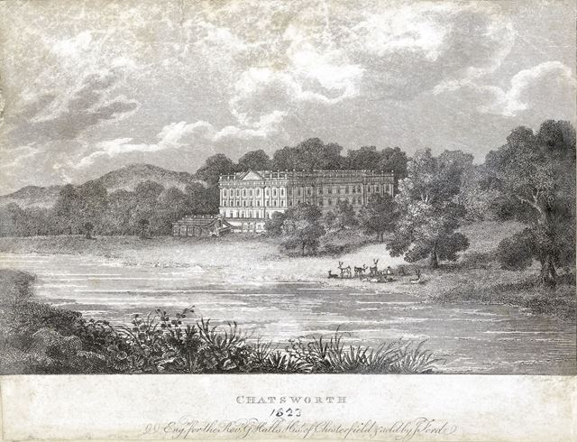 View of Chatsworth, 1823