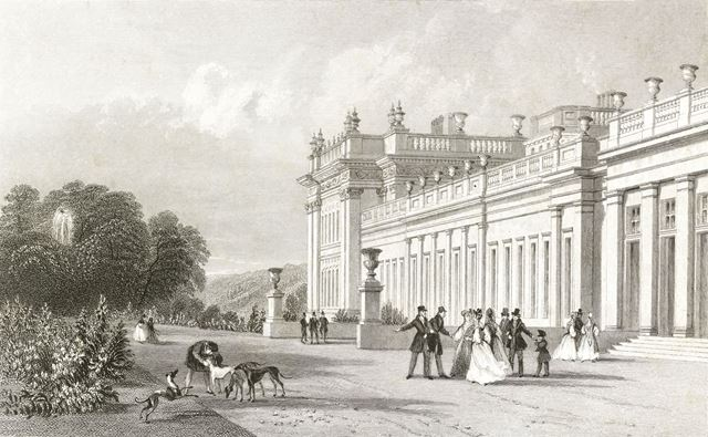Chatsworth House, Chatsworth Estate, c 1800?