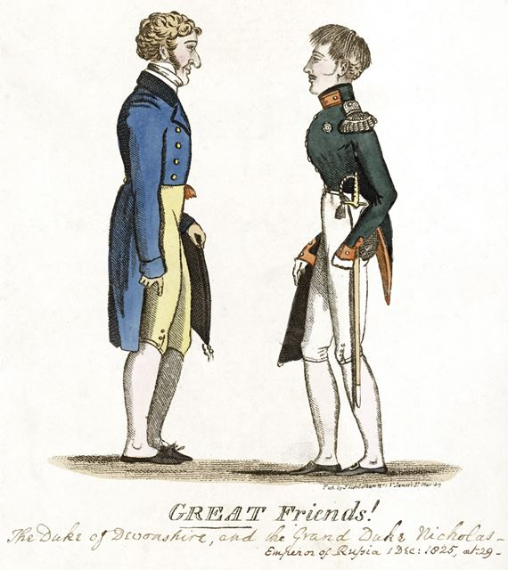 'Great Friends', Chatsworth House, 1825