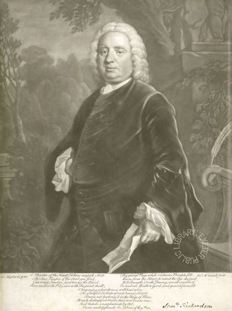 Samuel Richardson from a Painting by Joseph Highmore, c 1750s
