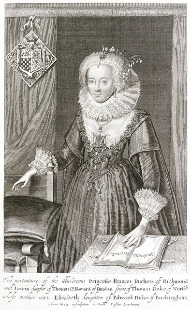 Princess Frances, Duchess of Richmond and Lennox, 1623