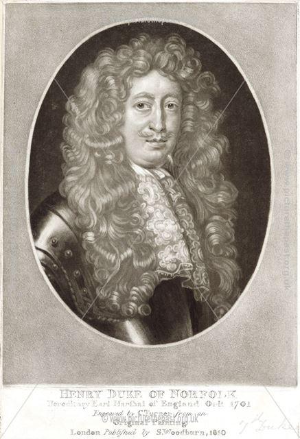 Henry Howard, Earl Marshall of England and 7th Duke of Norfolk (1655-1701), c 1680s