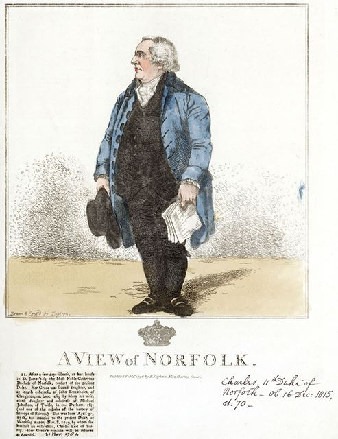Charles Howard, 11th Duke of Norfolk (1746-1815), 1796