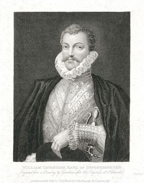 Sir William Cavendish, Earl of Devonshire, 1618