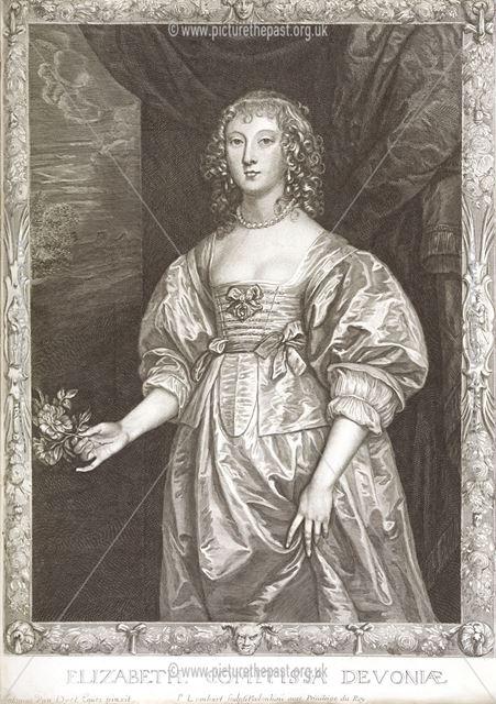 Elizabeth Cavendish (nee Cecil), Countess of Devonshire, c 1638-39