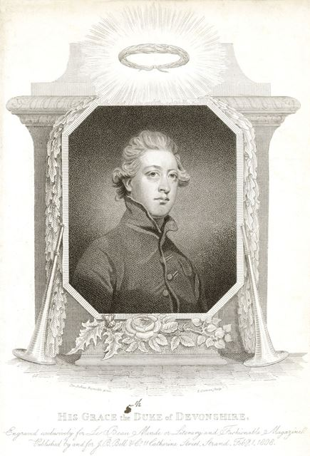 His Grace, 5th Duke of Devonshire (1748-1811), 1808