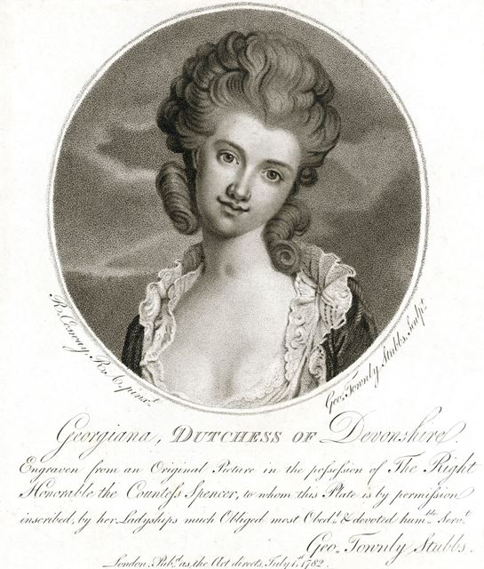 Her Grace, Lady Georgiana, Duchess of Devonshire, 1782