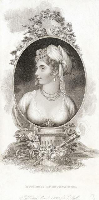 Elizabeth Foster (1759-1824), Second Wife of the 5th Duke of Devonshire, 1810