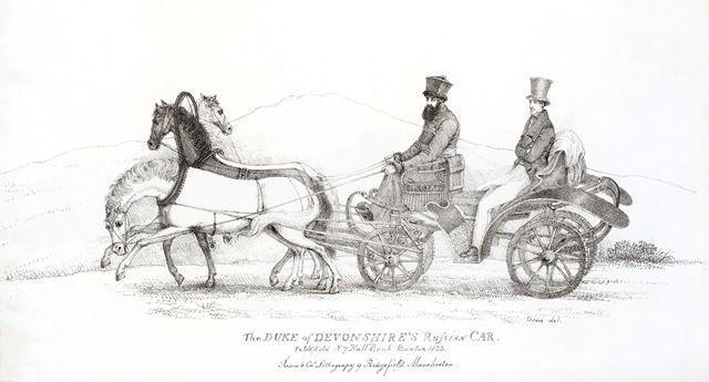 The Duke of Devonshire's Russian Drowski (Car), 1823