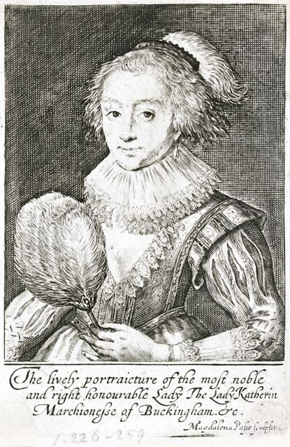 Lady Katherine Manners, Marchioness of Buckingham, c 1618-23