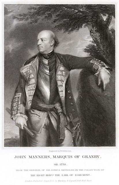 John Manners, Marquis of Granby, c 1770-73
