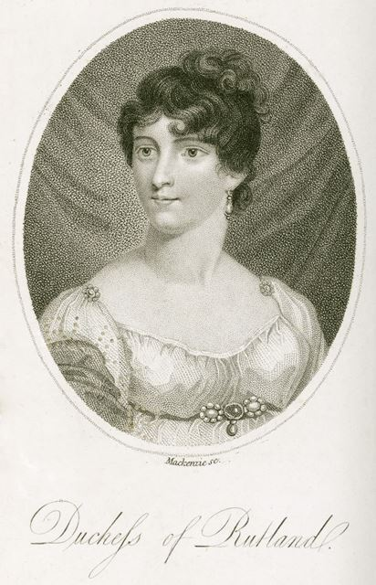 Elizabeth Manners (nee Howard), Wife of 5th Duke of Rutland (1780-1825), c 1800s