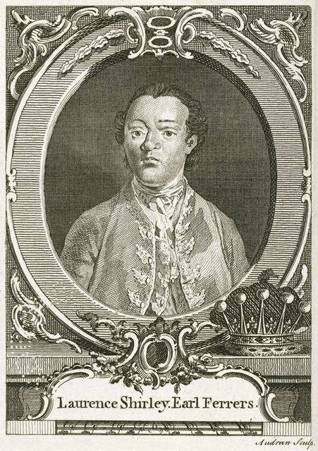Earl (Laurence) Ferrers (1720-1760), c 1750-1760