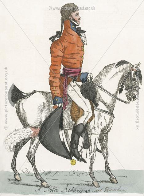 Lord Petersham, Charles Stanhope(1780-1851), 4th Earl of Harrington (1830-1851), 1804