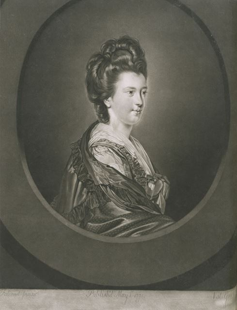 Elizabeth Kerr (1745-1780), Countess of Ancram, 1771