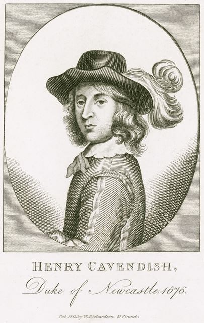 Henry Cavendish (1630-1691), 2nd Duke of Newcastle, 1676