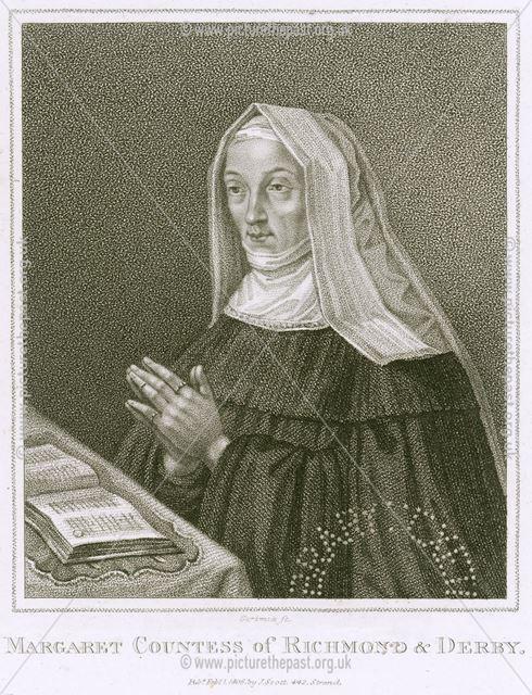 Lady Margaret Beaufort, Wife of Earl of Derby (1443-1509), c 1485-1509