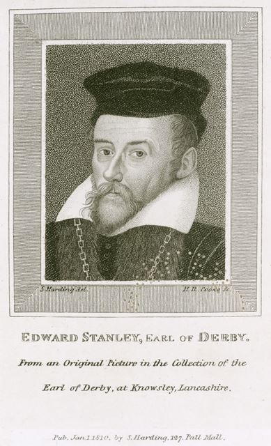 Edward Stanley, 3rd Earl of Derby (1509-1572), c 1550s