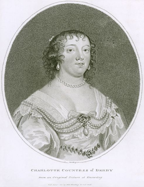 Charlotte Stanley, Wife of James Stanley, 7th Earl of Derby (1599-1664), c 1632-41