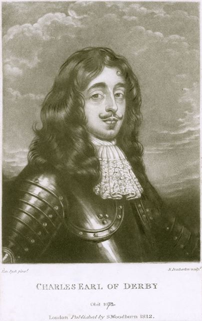 Lord Charles Stanley, 8th Earl of Derby (1628-1672), 1812