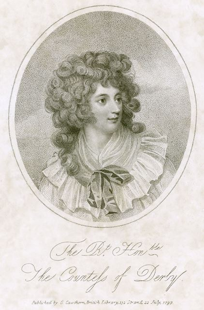 Elizabeth Stanley, Countess of Derby (c1759-1829), 1797