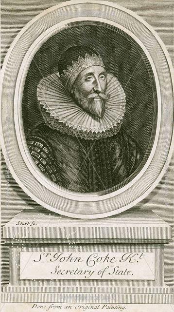 Sir John Coke (1563-1644), Melbourne Hall, Melbourne, 1713
