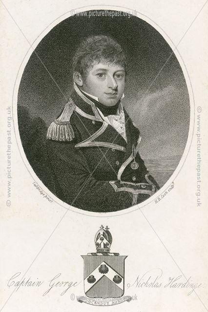 Captain George Nicholas Hardinge (1781û1808) Naval Officer, c 1800s