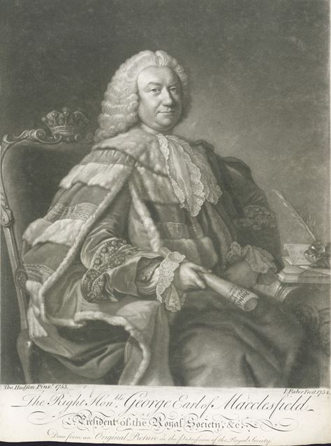 Right Hon George Parker, 2nd Earl of Macclesfield, (c 1697-1764), 1753