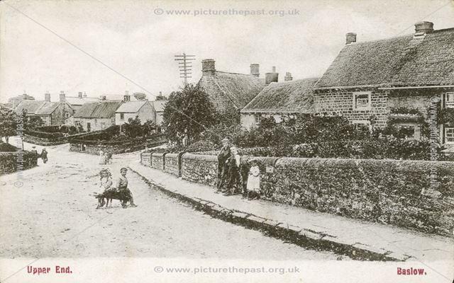 Upper End, Baslow, c 1900s?