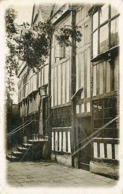 Mayor's Parlour, Tenant Street, Derby, c 1900s ?