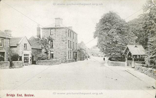 Church Street, Bridge End, Baslow, c 1910?