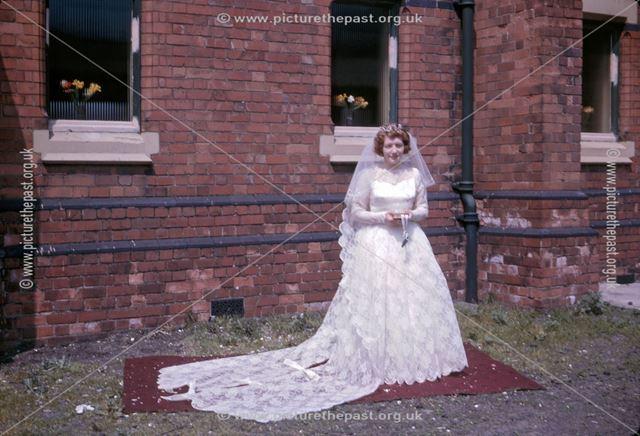 Wedding, Baptist Church, Forest Street, Kirkby in Ashfield, 1963