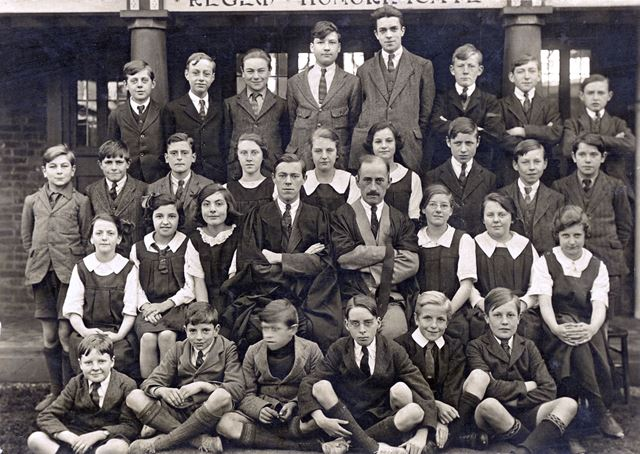 Form 3B, Ilkeston Secondary School, King George Avenue, Ilkeston, 1922