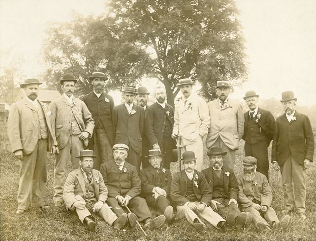 Farmers of Roston Area, c 1900