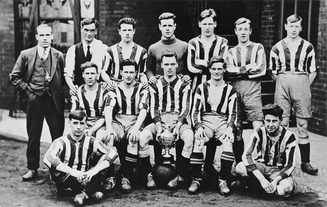 Williamthorpe Colliery Football Team