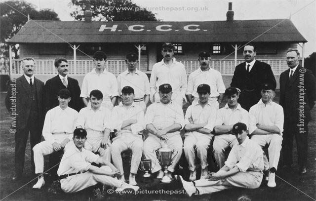 Holmewood Colliery Cricket Club