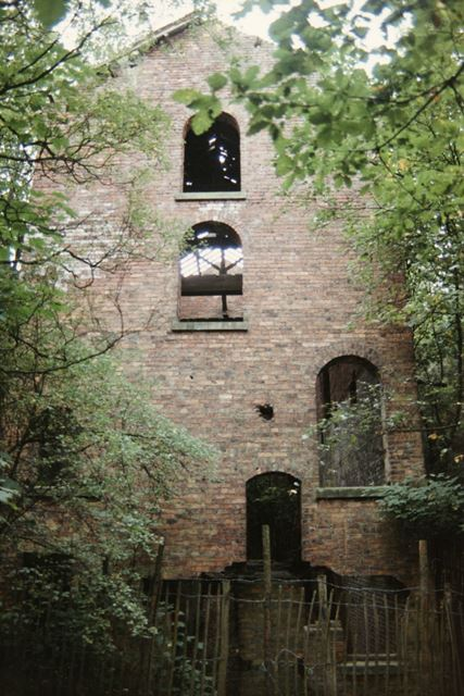 The ruins of the Seldom Seen Engine House